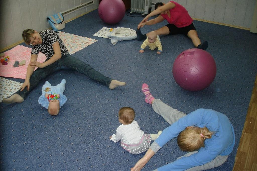 Занятия с детками