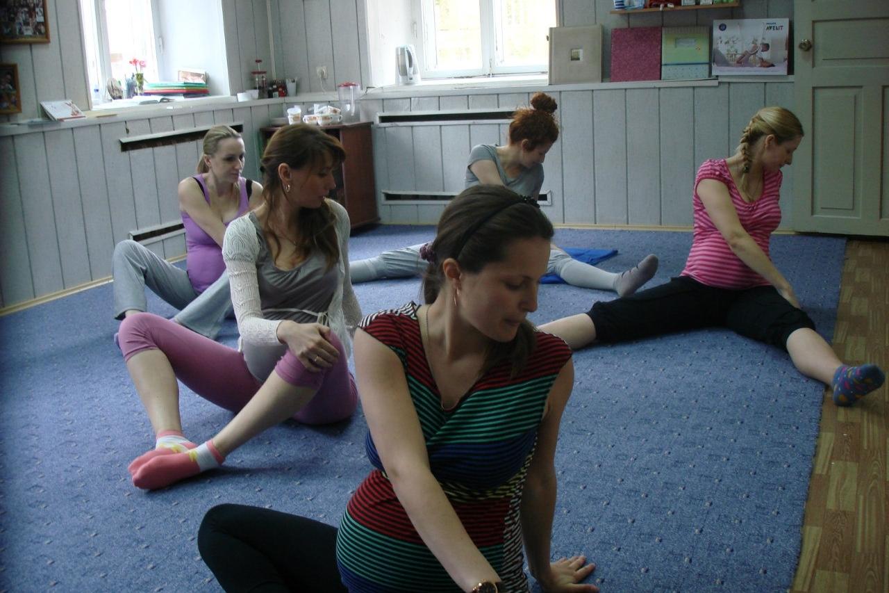 Курсы гимнастики для беременных